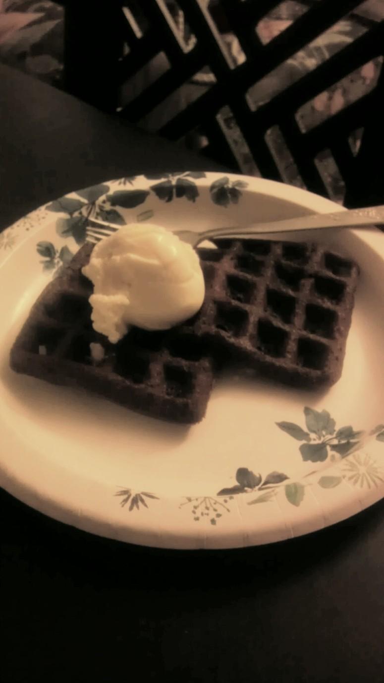 Waffle brownie?